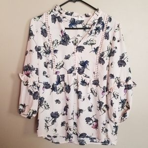 Maurices flower print top